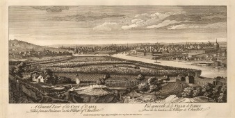 Panorama of Paris from the Village of Chaillot.