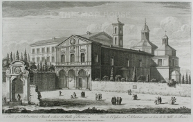 Sayer: Rome. Antique copper engraving, 1774. 18 x 12 inches. [ITp2107]
