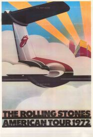 "Pasche: The Rolling Stones American Tour 1972. 1972. An original vintage chromo-lithograph. 26"" x 40"". [POSTERp287]"