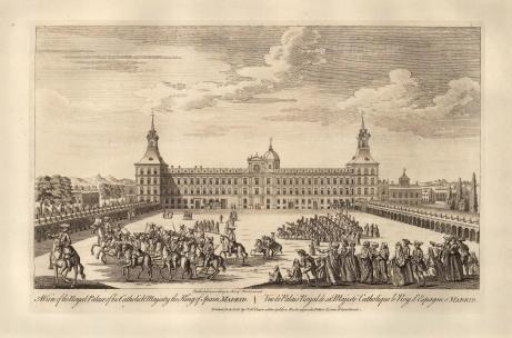 "Robert Sayer, 'Madrid', 1774. An original black & white copper engraving. 12"" x 18"". £POA."