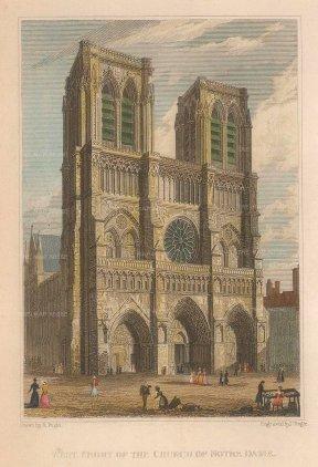 delete Notre Dame: West Front.