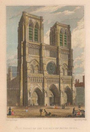 Notre Dame: West Front.