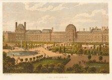 """Kronheim: Paris. c1870. An original antique chromolithograph. 8"""" x 6"""". [FRp1626]"""