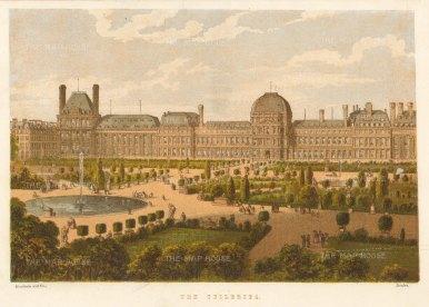 Kronheim: Paris. Circa 1870. An original antique chromo-lithograph. 8 x 6 inches. [FRp1626]