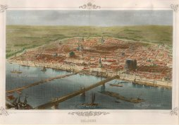 "Carse: Cologne. 1850. A hand coloured original antique steel engraving. 14"" x 10"". [GERp1104]"