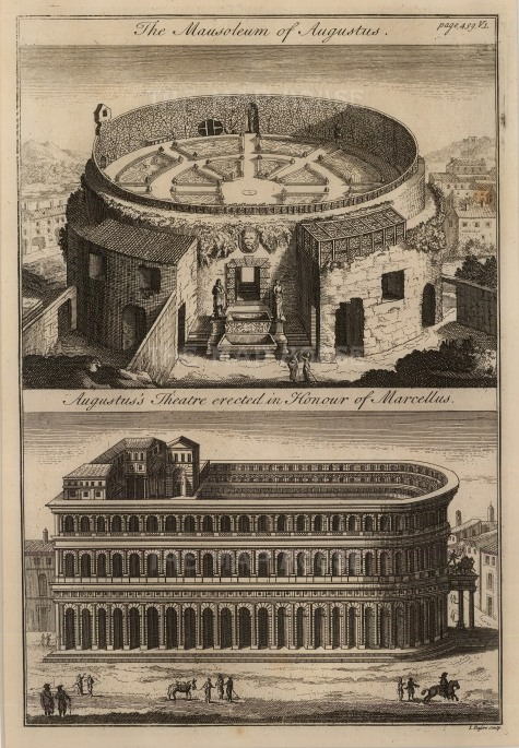 Bafire: Rome. Copper engraving, c. 1790. 8 x 11 inches. [ITp2091]
