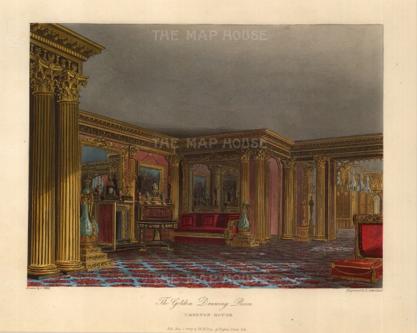 Golden Drawing Room, Carlton House.