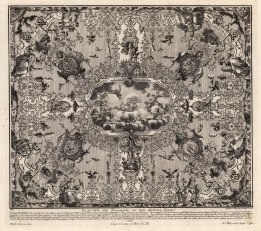 Baroque Ceiling Decoration: Illustrating the life of Aeneas, prince of Troy, protagonist of Virgil's Aeneid.