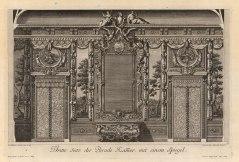"Paulus Decker, Baroque Wall Ornamentation, 1711. An original copper engraving. 16"" x 17"". £POA."