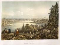 Schranz: Istanbul. 1855. An original colour antique lithograph. 17 x 12 inches. [TKYp1184]