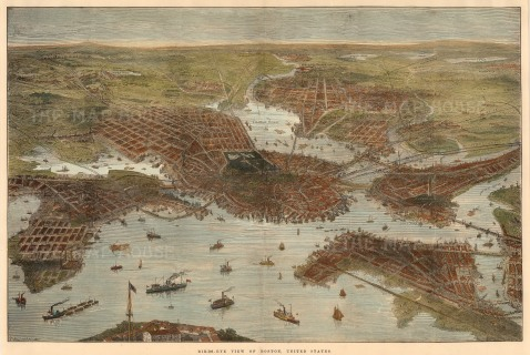 SOLD Boston: Bird's-Eye View.