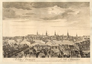 "Sayer: Berlin. 1774. An original antique copper engraving. 18"" x 12"". [GERp1244]"