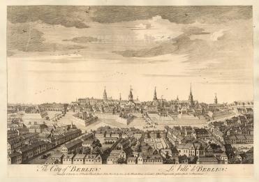 Sayer: Dresden. 1774. An original antique copper engraving. 18 x 12 inches. [GERp1244]