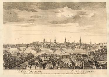 "Sayer: Berlin. 1774. An original antique copper engraving. 18"" x 12"". [GERp1244]"