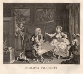 Harlot's Progress: Set of six.