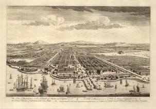 "Sayer: Jakarta. 1774. An original antique copper engraving. 18"" x 12"". [SEASp1322]"