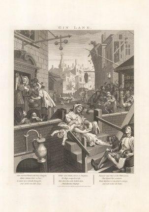 Gin Lane - Hogarth