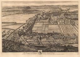 "Kip: Nottingham. 1719. An original antique copper engraving. 20"" x 14"" [Eng 2]"