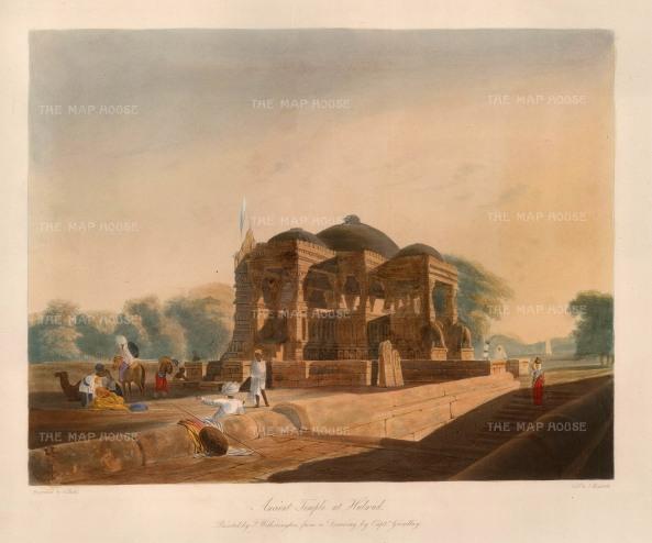 Grindlay: Gujarat. 1830. An original antique aquatint. 12 x 10 inches. [INDp535w]