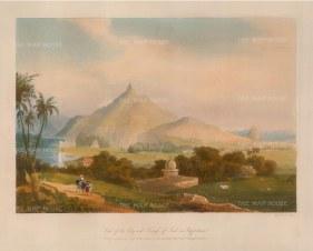 Grindlay: Rajasthan, 1830. An original colour antique aquatint. 12 x 9 inches. [INDp572]
