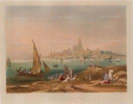 Grindlay: Gujarat, 1830. An original colour antique aquatint. 12 x 9 inches. [INDp576]