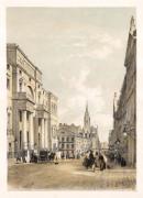 "Swarbeck: Edinburgh University, South Bridge Street. 1837. A hand coloured original antique lithograph. 12"" x 16"". [SCOTp824]"