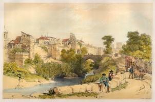 "Vivian, 'Seville, Puerta Jerez', 1838. An original colour lithograph. 12"" x 17"". £POA."