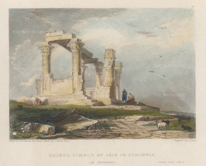 Ghertersher, Ethiopia: View of the Temple of Isis.