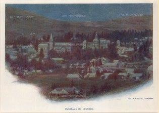 """Edwards: Pretoria. c1920. An original vintage chromo-lithograph. 9"""" x 7"""". [AFRp1193]"""