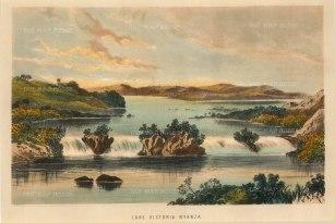 Uganda: Owen Falls. Lake Victoria (Nyanza).