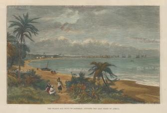 Zanzibar: View of the bay.