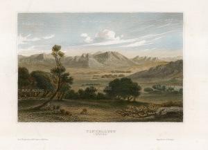"Sherwood, Neely & Jones: Tintelust, Niger. 1836. A hand coloured original antique steel engraving. 7"" x 5"". [AFRp1387]"