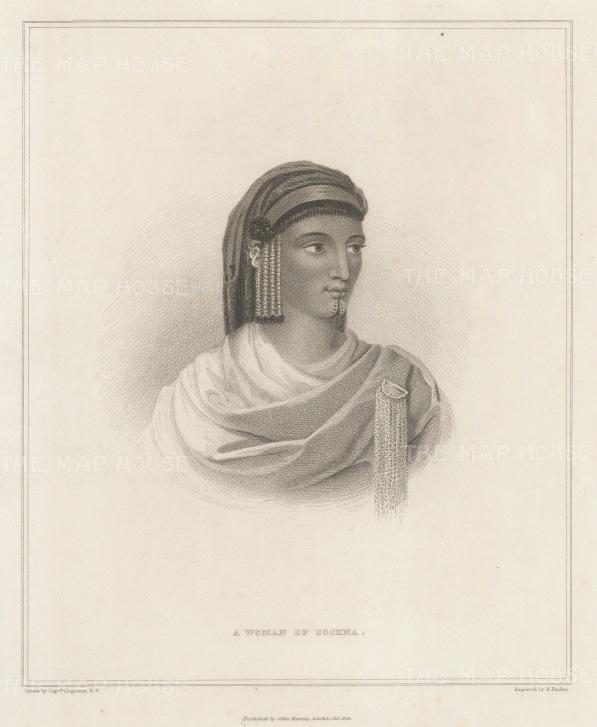 Sockna, Libya: Lady of Sockna.