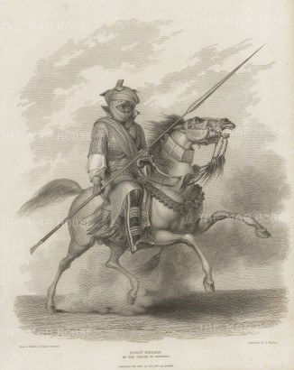 Chad: Body Guard of the Sheikh of Bornou.