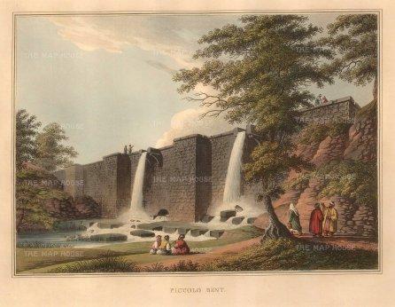 """Mayer: Belgrade, Serbia. 1810. A hand coloured original antique aquatint. 14"""" x 11"""". [CEUp472]"""