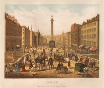 "Collins: Dublin. c1890. An original antique chromolithograph. 10"" x 9"". [IREp641]"