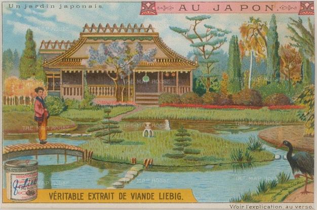 Liebig: Japan. 1905. An original antique chromo - lithograph. 4 x 3 inches, [SEASp849]