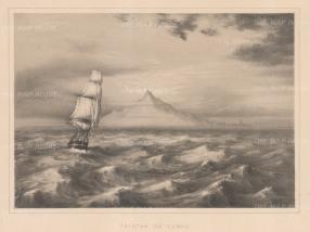 Tristan da Cunha: South Atlantic Ocean.