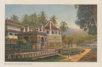 Kandy: Temple of the Sacred Tooth.