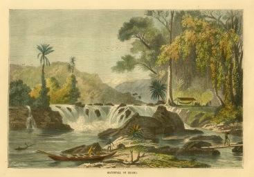 Kaieteur Waterfall, Guyana: View towards the rapids.