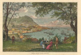 Victoria:Panoramic view of the Harbour.