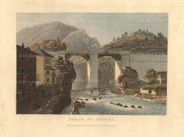 """Ackermann: Crevola. 1820. An original colour antique aquatint. 6"""" x 5"""". [SWIp774]"""
