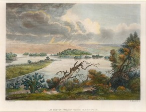 Metzeroth: Texas. 1860. A hand-coloured original antique steel-engraving. 9 x 7 inches. [USAp3035]