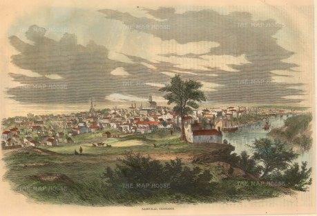 Harpers: Nashville, Tennessee. 1862. [USAp3247]