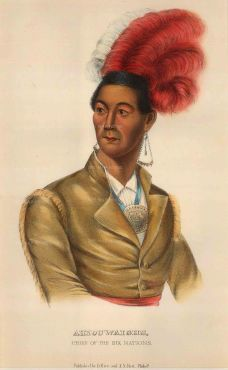 Ahyouwaighs (aka John Brant): Chief of the Six Nations and the first Indian to sit in Upper Canada's parliament as a lawmaker.