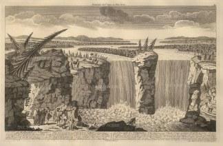 Sayer: Niagara Falls. 1774. [USAp4663]