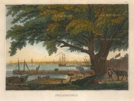 Fisher: Philadelphia, Pennsylvania. 1829 [USAp4712]