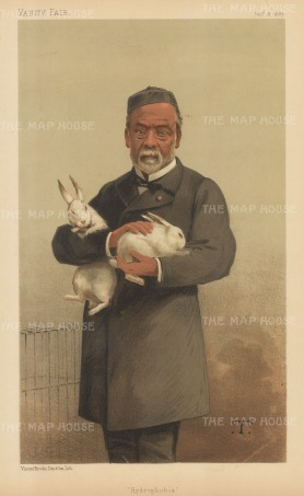 Hydrophobia (Rabies): Louis Pasteur after Theobaed Chartran.