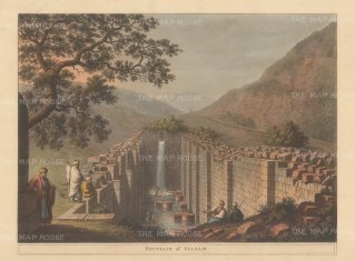 Siloam: View of the biblical fresh water fountain in Silwan, East Jerusalem.