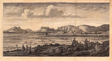 Persepolis (Takht-e-Jamshid), Iran: Panoramic view of the ruins of the Royal Complex of the Achaemenid Empire destroyed by Alexander the Great in 330 BC.